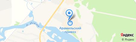 Татошка на карте Арамиля