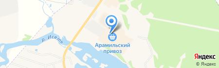 Банкомат СКБ-Банк на карте Арамиля
