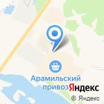 Магазин обоев и напольных покрытий на карте Арамиля
