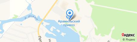 ЗУБР на карте Арамиля