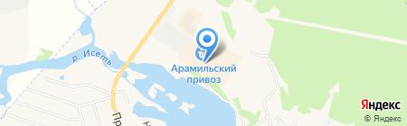 Ветеринарная аптека №1 на карте Арамиля