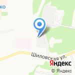 Леспром на карте Берёзовского