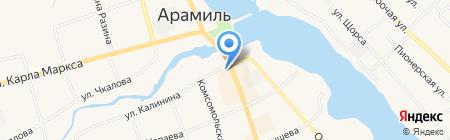 Отдел образования Арамильского городского округа на карте Арамиля
