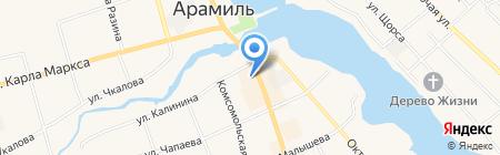 Урал-Рецепт М на карте Арамиля
