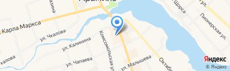 РОБЕК на карте Арамиля