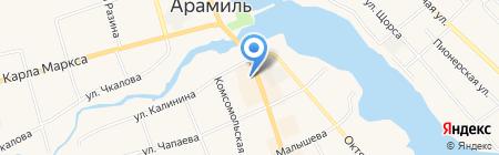 Связной на карте Арамиля