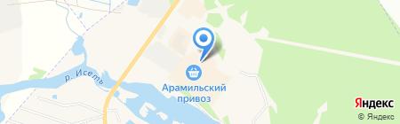ВиД на карте Арамиля