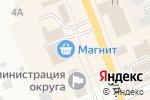 Схема проезда до компании Шкафчик в Арамиле