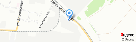 Nova-Tex на карте Екатеринбурга