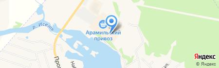Хозтовары на карте Арамиля