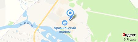 Торгово-монтажная компания на карте Арамиля