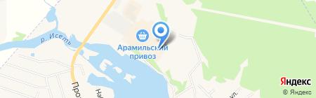 АЛЬФА-КЛИМАТ на карте Арамиля