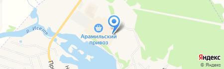 Панели на карте Арамиля