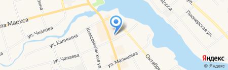 Серебряный диск на карте Арамиля