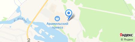 Сомони на карте Арамиля