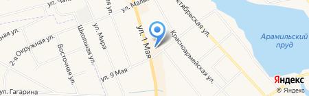 Банкомат Газпромбанк АО на карте Арамиля