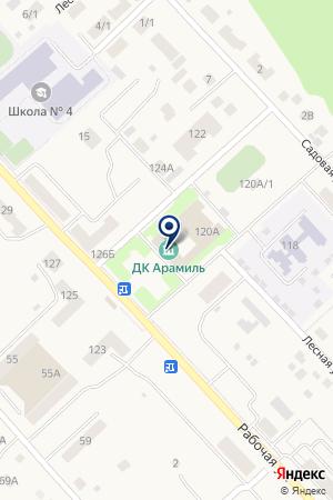 ПАРИКМАХЕРСКАЯ SHINE на карте Арамиля