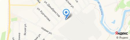 ДЮСШ на карте Арамиля