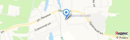 Шиловское на карте Старопышминска