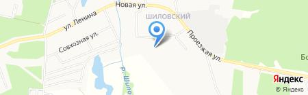 Рябина-парк на карте Старопышминска