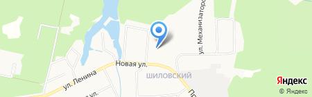 Основная общеобразовательная школа №8 на карте Старопышминска