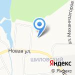 Основная общеобразовательная школа №8 на карте Берёзовского