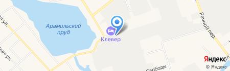 Максима-Ек на карте Арамиля
