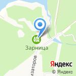 Зарница на карте Берёзовского