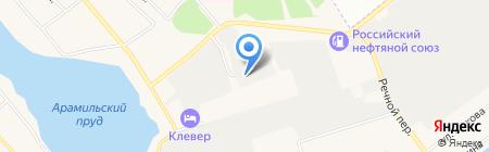 Андико на карте Арамиля