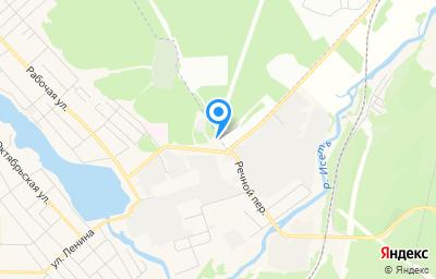 Местоположение на карте пункта техосмотра по адресу Свердловская обл, Сысертский р-н, г Арамиль, пер Речной, д 2Б