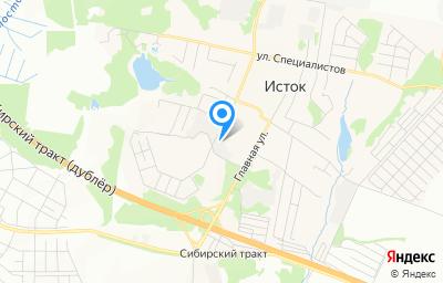 Местоположение на карте пункта техосмотра по адресу г Екатеринбург, п Исток, ул Овощная