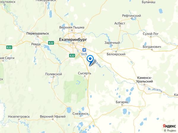 садовое товарищество Кадниковский-3 на карте