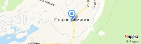 Почтовое отделение на карте Старопышминска