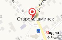 Схема проезда до компании Почтовое отделение в Старопышминске