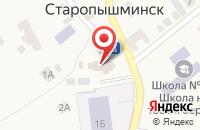 Схема проезда до компании Приход в имя Сретения Господня в Старопышминске