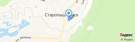 Основная общеобразовательная школа №29 на карте Старопышминска