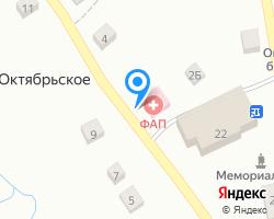 Схема местоположения почтового отделения 623737