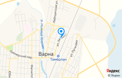 Местоположение на карте пункта техосмотра по адресу Челябинская обл, с Варна, ул Ленина, д 2Б