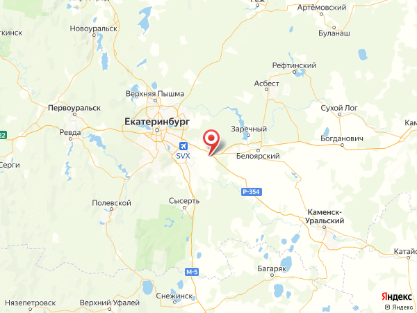 поселок Новая Поварня на карте