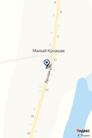 ДЕТСКИЙ САД ТЕРЕМОК на карте Кунашака