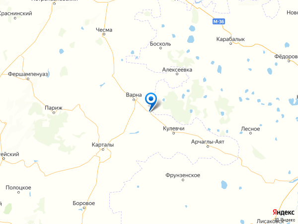 посёлок Новопокровка на карте
