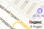 Схема проезда до компании Строительная империя в Челябинске