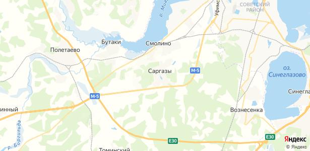 Саргазы на карте