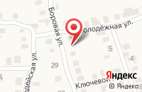 Схема проезда до компании Пивной перекрёсток в Черепаново