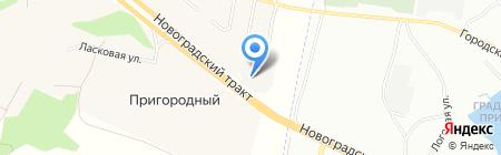 Южноуральский техноторговый дом на карте Челябинска