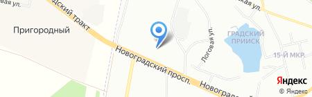 Электро-Партнер на карте Челябинска