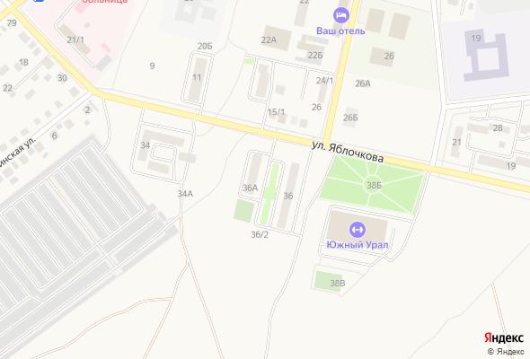 жилой комплекс по ул. Яблочкова, 36, 36А