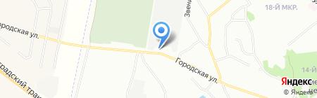 Мб-Клуб на карте Челябинска