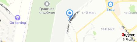 Автосервис74 на карте Челябинска