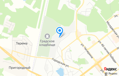 Местоположение на карте пункта техосмотра по адресу г Челябинск, тер ГСК 11 Градский